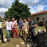 Jardin tisane, concrétisation d'un projet du concours projet d'avenir !